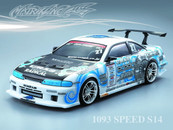 NISSAN 1093 SPEED S14 PC BODY SHELL