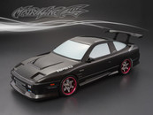 NISSAN 180SX CARBON-PRINTING PC BODY SHELL ( 1:10 )