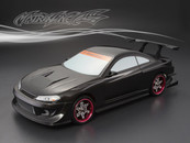 NISSAN GP SPORTS S15 SILVIA Finished PC Body RTR