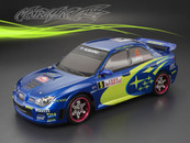 SUBARU IMRREZA WRX 9 Finished PC Body RTR