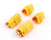Amass MT60 plug consists of 3x3.5mm bullet plugs