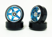 CS 1:10 Scale tyre & rim 4pcs TY-021+2060.3 3mm offset wheels