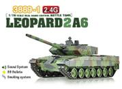 Heng Long 1/16 Scale German Leopard 2A6 Airsoft RC Battle Tank Smoke & Sound 2.4Ghz