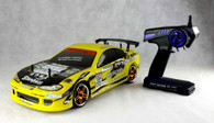 HSP S15 1/10th scale on road drifting car(Model NO.:94123T) LED Light version
