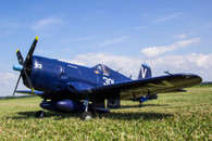 "FMS F4U Corsair V3 6ch Blue 1400mm (55"") Wingspan"