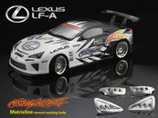 Lexus LF-A clear body with Decal sheet