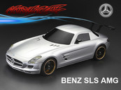 BENZ SLS AMG PC BODY SHELL with Chrome light bucket