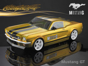 Ford 66 Mustang GT Clear body with light bucket