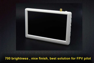 5 inch 800*480 resoultion 5.8GHz video receiver built in Monitor, rechargeable battery and antena included.