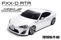 MST FXX-D 2WD Ready-to-Run chassis kit ( GT-86 white)