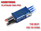 HobbyWing C-Platinum-100A-V1 Brushless ESC for 550/600 RC Heli and Giant Aircraft