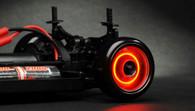 Dynamic wheel lights for drift cars (Red)