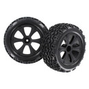 BS214-009 Wheels and Tires Complete 1 Pair Blackout XTE Part