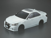 Killer Body 1/10 Toyota Crown Athlete Finished Body Light buckets assembled (White)