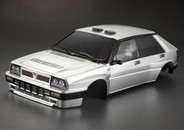 Killer Body 1/10 Lancia Delta HF Integrale 16V Finished Body Light buckets assembled (Silver)