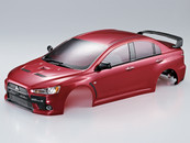 Killer Body 1/10 Mitsubishi Lancer Evolution X Finished Body (Red)