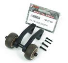 VKAR BISON Racing Rise head wheel Stand up wheel Rear Anti-roll wheels kit for RC Monster truck ET1047