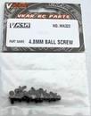 VKAR MA322 PIVOT BALLS 4.8MM W/THREAD