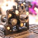 Usukani FXX Alum. Middle Gear Box - Black