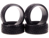 Austar 1:10 rubber tyre set  (4pcs )