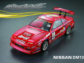 1/10 Nissan DM13 Clear Shell