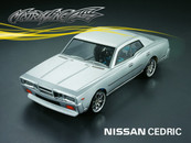 1/10 NISSAN CEDRIC Clear Shell
