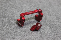 Usukani (#US88103-R) Adjustable Multi-Function AL Servo Holder - Red