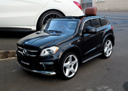 Mercedes benz GL63 AMG ( License) ride on car RC 12V Twin Motor