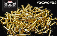 T.Game Gold Screws Set - Yokomo YD-2
