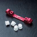 MST 820057R Adjustable alum. suspension mount (-0.5-+1.0) (red)