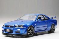 Tamiya 1/24 Nissan Skyline GT-R (R34) - V.spec II