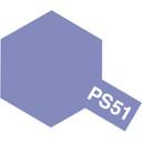 Tamiya PS - 51 Polycarb purple anodized Aluminium