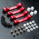 MST 210576R RMX 2.0 S Alum. suspension mount set (red)