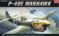 Academy 12468 1/72 P-40E Warhawk