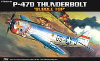 Academy 12491 1/72 Republic P-47D Thunderbolt