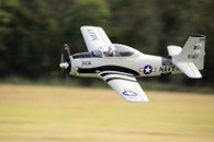 FMS T-28 Trojan Brushless Warbird with Worm Drive Retract System