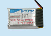 lipo battery 3.7v  350mah