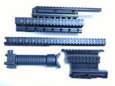 Saiga Quad Rail System COMBO 7.62, .223,5.45 Rifle Handguard+Side Mount+bipod+foreGrip