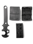 3 Combo! Gunsmith Armorer's Tool Kit 5.56 .223 AR15 Lower & Upper Receiver Vise Block & Wrench