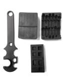 3 Combo! Gunsmith Armorer's Tool Kit 5.56 .223 AR15 Lower & Upper Receiver Vise Block & Wrench