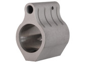 .625 Light Weight Barrel Low Profile Micro .223 Rifle STEEL Gas Block & Roll Pin