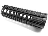 "308 7"" Carbine Length QUAD PICATINNY RAIL HANDGUARD FOR DPMS 308 LOW PROFILE RECEIVER LR308 .308 AR10"