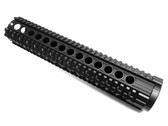 "308 12"" full Length QUAD PICATINNY RAIL HANDGUARD FOR DPMS 308 LOW PROFILE RECEIVER LR308 .308 AR10"