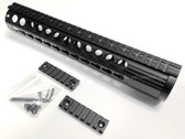 "308 12"" Full Length KEYMOD KEY MOD RAIL HANDGUARD FOR DPMS 308 LOW PROFILE RECEIVER LR308 .308 AR10"