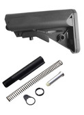 Gen 3 Kit! Made in USA Black Sopmod Mil spec Stock Buttstock + Buffer tube kit
