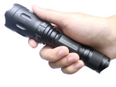 Tactical True 750 lumen Flashlight with Strobe SOS Multi Mode rifle Hunting rail