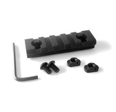 5 Slots M-LOK ALUMINUM Rail Section - 3 inch for magpul mlok mlock handguard