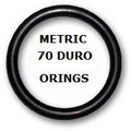 Metric Buna  O-rings 126.59 x 3.53mm  Price for 5 pcs