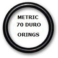 Metric Buna  O-rings 400 x 6mm Price for  1 pc