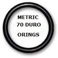 Metric Buna  O-rings 207 x 3mm Price for 1 pcs